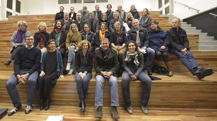 Schulbauberater - die Gruppe. Foto: Eberhard Weible