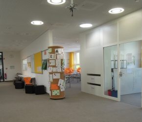 Clustermitte im Gymnasium Neubiberg