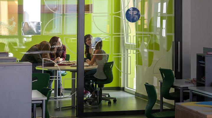 Gruppenraum, Lernhaus im Campus, Osterholz-Scharmbeck. Foto: Steffen Fuchs, HeidelbergCement AG