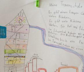 Traumschule. Zeichnung: unbekannt