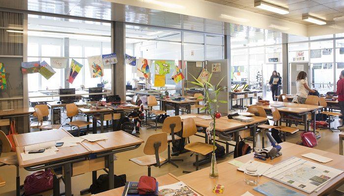 Schule im Birch, Zürich, Schweiz. Foto: Stefan Bayer